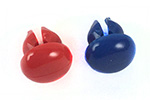 Chicago Faucets - 665-309KJKNF - PRE-PACK RED & Blue ButtonS