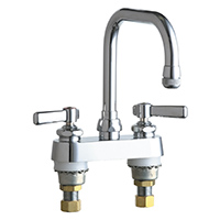 Chicago Faucets - 526-ABCP - 4-inch Deck Mounted Sink Faucet