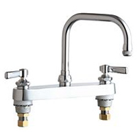 Chicago Faucets - 527-XKABCP - 8-inch Deck Mounted Sink Faucet
