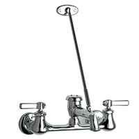 Chicago Faucets - 540-LD897SWXFXKCP - Wall Mounted Service Sink Faucet